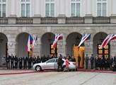 Prezident ČR Miloš Zeman ve Varšavě na oficiální n...