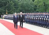 Prezident Zeman s německým protějškem Joachimem G...