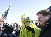Protestů proti dohodě ACTA se zůčastnil i Zdeněk Š...
