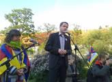 Exministr a šéf strany LES Martin Bursík