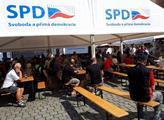 Český jarmark SPD v Pardubicích