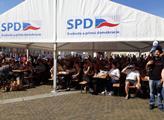 Český jarmark SPD v Českých Budějovicích