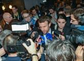 Macron přes cestou do Prahy znovu propleskl potížisty z východu: Nebudeme se ohlížet na země, které chtějí naši integraci blokovat