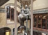 Svatý Václav na koni v Lucerně