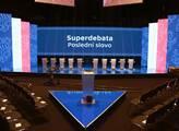 Předvolební superdebata v České televizi
