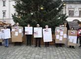 V Olomouci uspořádali protiislámští aktivisté happ...