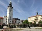 Slavnostní přísaha nových vojáků ve Vyškově