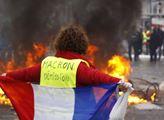 V hlavním městě Francie se demonstrace proti refor...