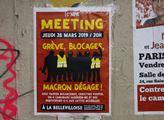 V pařížské čtvrti Belleville uspořádala extrémní l...