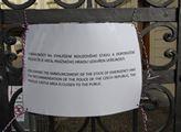 Areál Pražského hradu je uzavřen