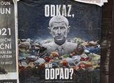 Plakát Hnutí DUHA v Loděnicích