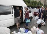 Sbírají humanitární pomoc pro běžence z Doněcké a ...