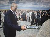 Její stavbu posvětil běloruský prezident Alexandr ...