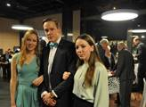 Děti Pavla Fischera ho podpořily v jeho volebním š...
