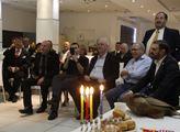 Hlavně se zdržela v Haifě, kde se setkala s místní...