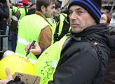 V Paříži se opět konala akce žlutých vest. Tentokr...