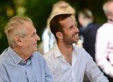 Prezident Miloš Zeman v Lánech hostil už druhý roč...