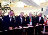 Prezident Miloš Zeman otevřel český pavilon na výs...