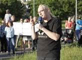 Mluvčí iniciativy Moje Písnice Ondřej Václavík