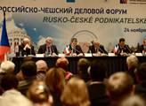 Obrázky ze státní návštěvy Miloše Zemana v Rusku