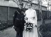 Svatba roku 1920 s Ninou Krukovskou ve Vladivostok...