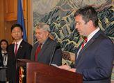 Na čínském velvyslanectví promluvili místopředseda...