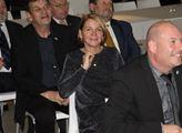 Zúčastnila se jí senátorka a starostka Žatce Zdeňk...