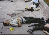 Oběti teroristického útoku na policisty nedaleko K...
