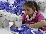 V další textilce u Kašgaru