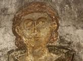 Nástěnná malba v kapli u kaňonu Matka