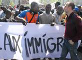 Přistěhovalci z Afriky demonstrovali za rozšíření ...