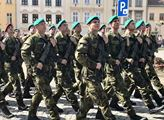 Do základního vojenského výcviku ve Vyškově nastoupilo přes sto nováčků aktivní zálohy