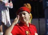 V ruském městě Kursk se konala přehlídka vojenské ...