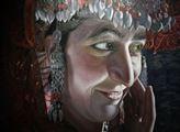 Obrazy kyrgyzského malíře Jusupa Matajeva