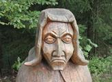 Pohádková bytost ve Slavkovském lese