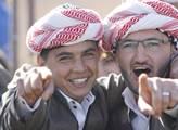 Oslavy kurdského nového roku Newroz na okraji měst...