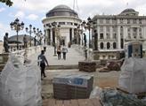 Některé pohledy v centru Skopje připomínají filmov...
