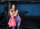 Cvičitelka aerobiku Hanka Kynychová