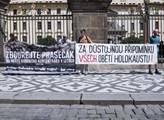 Občanské sdružení připomnělo před Pražským hradem ...
