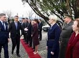 Premiér Andrej Babiš na první oficiální návštěvě S...