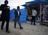 V Calaiském migrantském slumu zvaném džungle