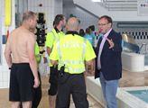 Praha 5: Petr Lachnit převzal záštitu nad sportovním dnem v Aquaparku