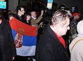 Pietní akt k 18. výročí agrese NATO vůči Jugoslávi...