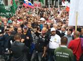 Protestní akce proti Islámu v Bratislavě