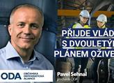 Pavel Sehnal (ODA): Přijde vláda s dvouletým pánem oživení?