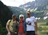 Martin France, Martin Harich a Marcela Březinová v rakouských Alpách kousek od Kaprunu