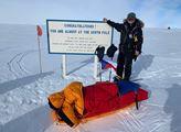 Polárník Sehnal: předseda ODA dobyl po severním už i jižní pól