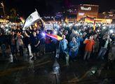 Demonstrace v Chemnitz týden poté