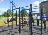 Nadace ČEZ: Ve Vodňanech mají první workoutové hřiště