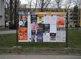 Plakátovací plocha v Orlové